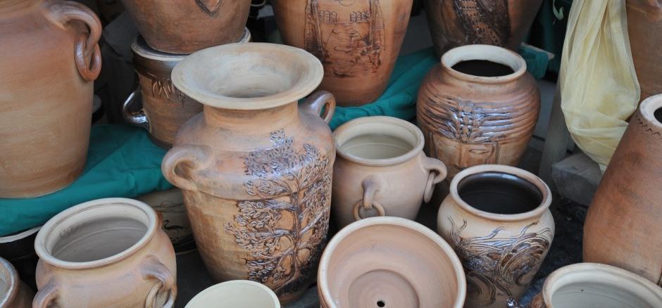 Ceramika Ogrodowa Garnki Donice Ceramiczne